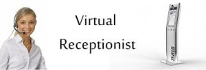 What do virtual receptionists do?